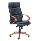 raggio wooden office chair