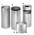 accessories Fluted bin range