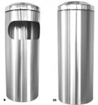 accessories Innovation stainless ashtray litter bins