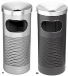 accessories Perforated ashtray litter bins