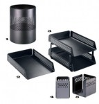 accessories Perforated desk set