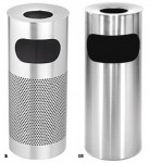 accessories Stainless steel ashtray litter bins